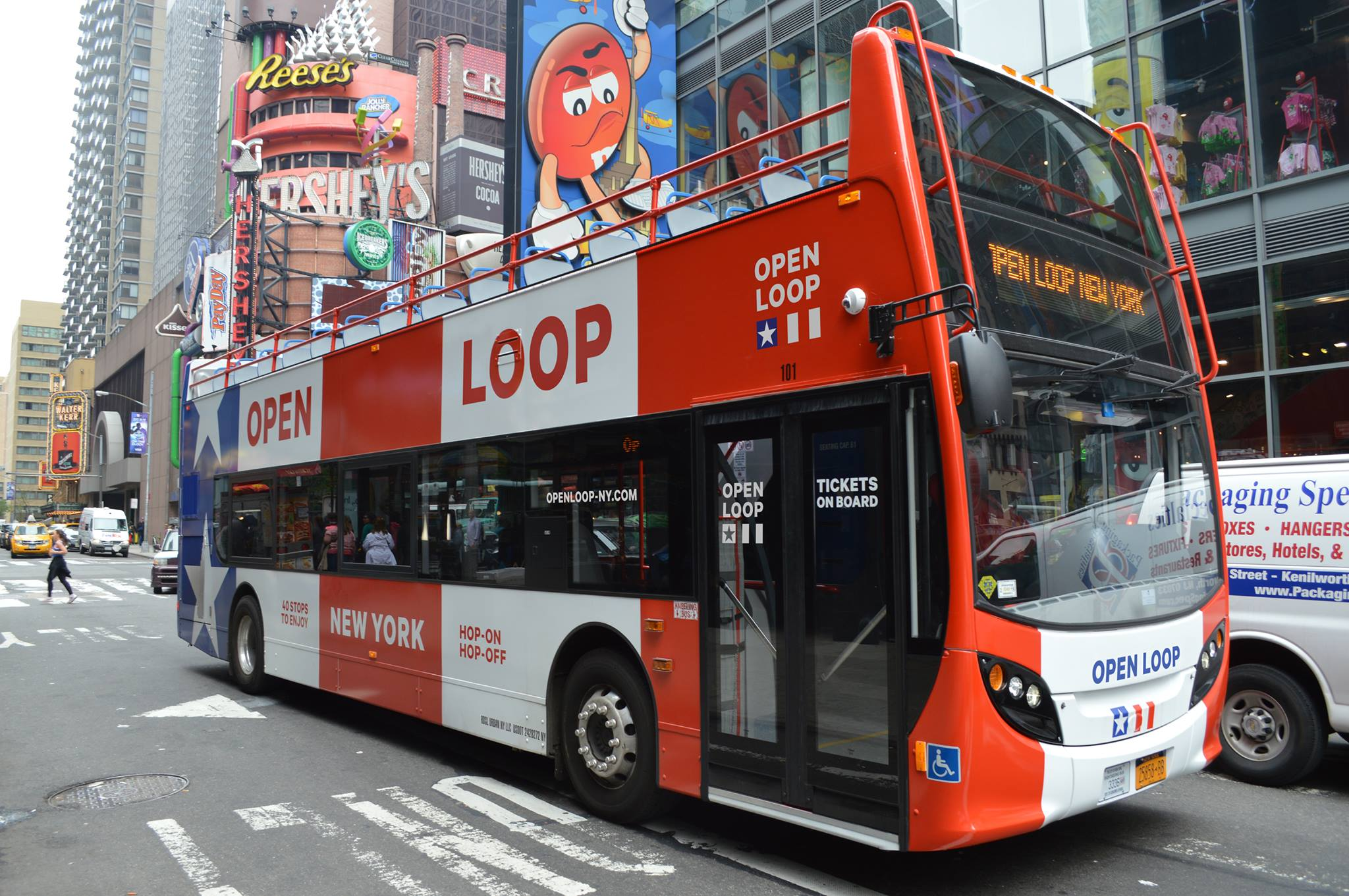 Dat is absoluut middels hop-on hop-off New York